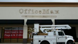 Office Max after removal