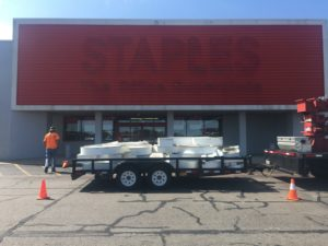 Staples The Office Superstore – After Removal