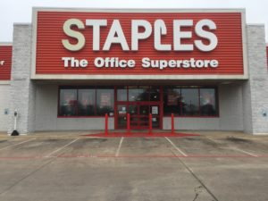 Staples The Office Superstore – Before Removal